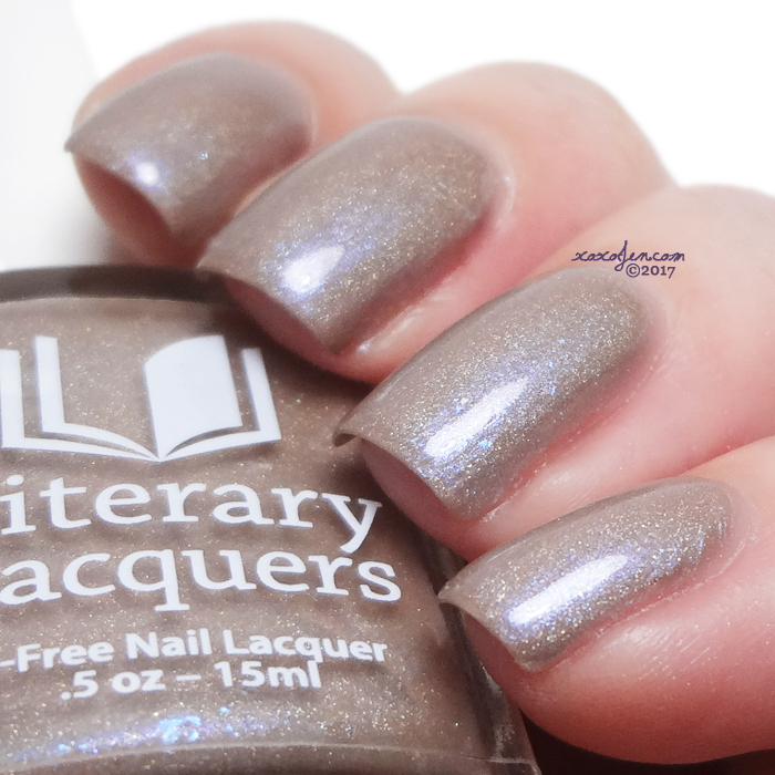 xoxoJen's swatch of Literary Lacquers Thousand Different Strokes of Light