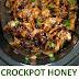 Crockpot | Slow Cooker Honey Garlic Chicken