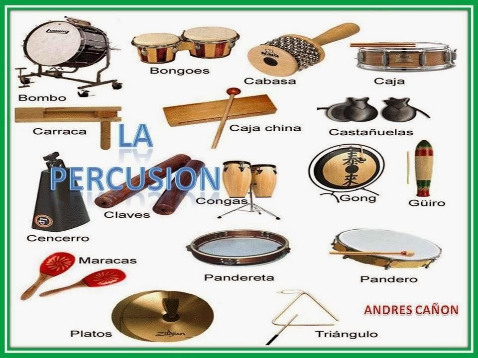 Musicabilízate Tipos De Instrumentos