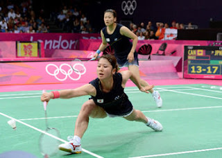 ロンドンオリンピック バドミントン女子ダブルス