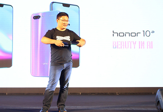 Tinuku Honor 10 is officially launched in Indonesia