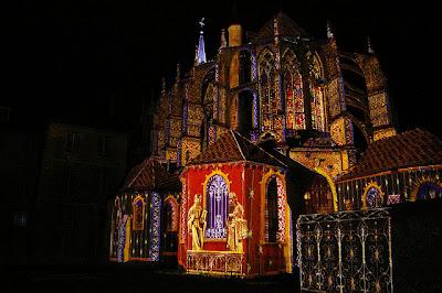 Chartres fete lumiere