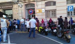 سلطات الاحتلال الاسباني تمنع ما يقارب 700 طفل مغربي من التسجيل بمدراس مليلية المحتلة