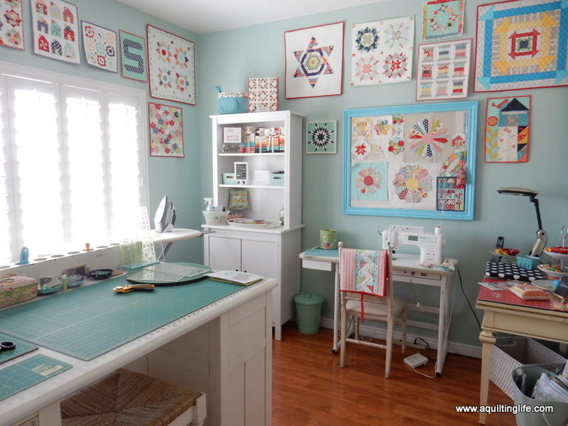 Decorating with Quilts | A Quilting Life - a quilt blog