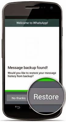 Cara Mengembalikan Chat Whastapp yang sudah Terhapus