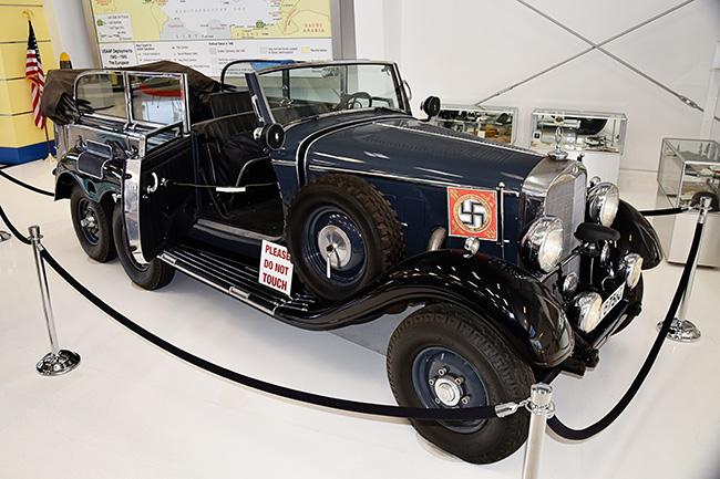 Hitler Mercedes Benz Car