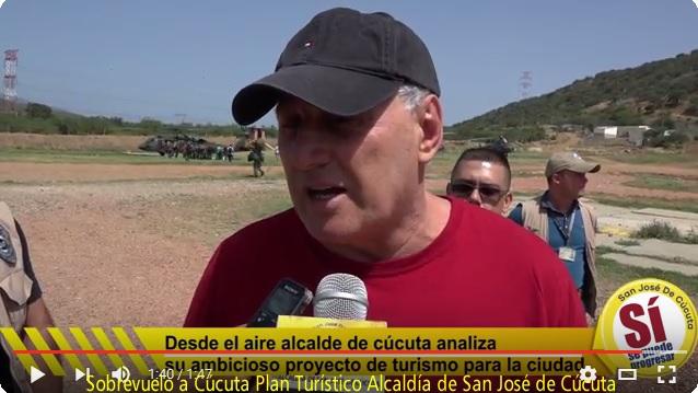 Prospectiva Turística   Alcalde César Omar Rojas Ayala realiza vista aérea al Plan Turístico de Cúcuta #ReporteroSoyYo