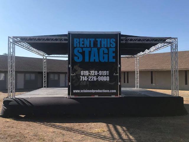 Mobile Stage Rental - Supporting Nonprofits - Xclaimed