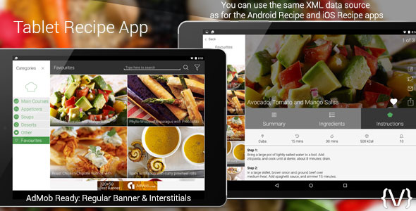 1463985010tablet recipe appg android recipe app and ios recipe app this means that you can use the same xml data source for all of the apps the app is designed to work in forumfinder Gallery