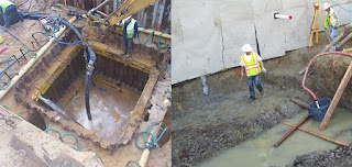 dewatering for foundation
