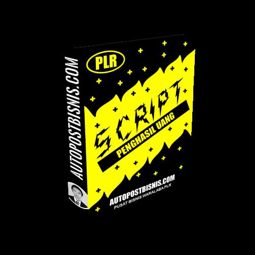 Script Penghasil Uang - Script Untuk Membuat Website Affiliasi Berbasis Blogspot