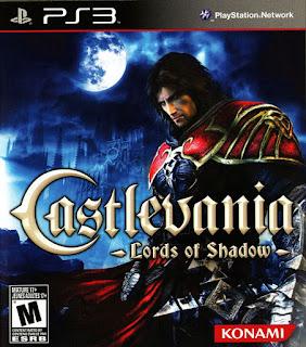 Portada del disco de Castlevania: Lords of Shadow para PS3, 2010