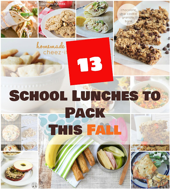 Easy, healthy, and delicious lunchbox ideas from wraps to granola bars!