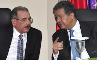 Presidente Danilo Medina y Leonel Fernandez