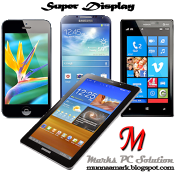 iPhone 5, Samsung S4, Windows Phone 8, Samsung Galaxy Tab