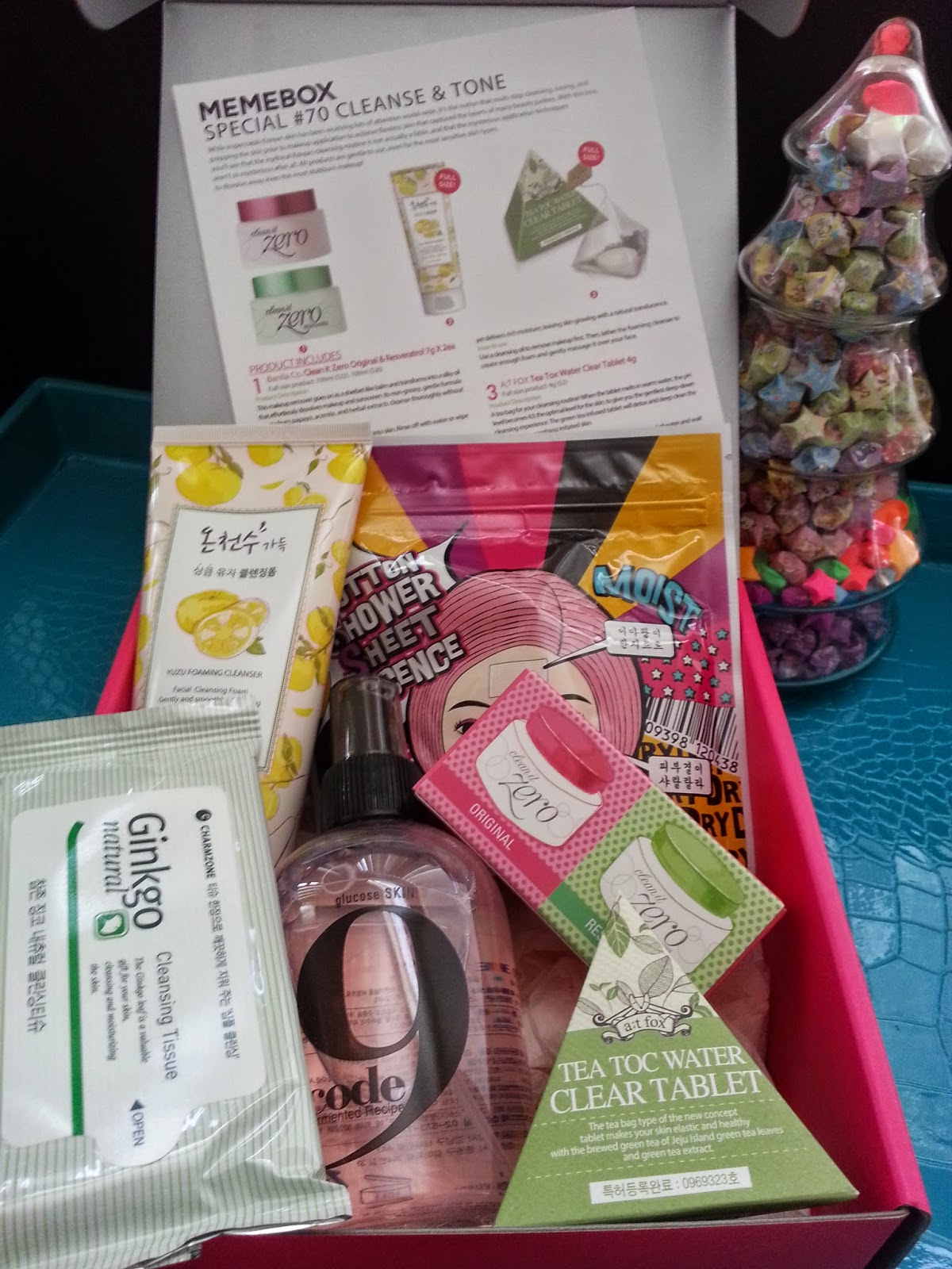 Unboxing: Memebox Cleanse and Tone Special
