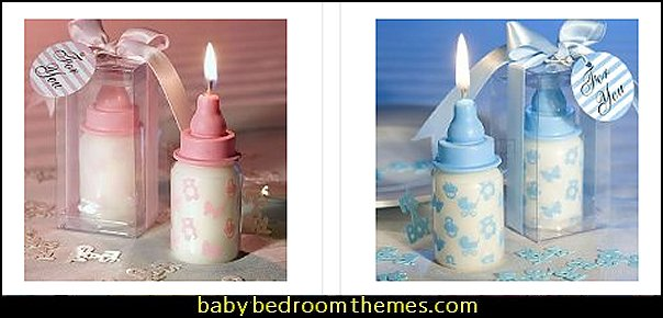 Baby Bottle Candle Favors