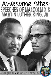 http://www.musingsofahistorygal.com/2015/03/martin-luther-king-jr-and-malcolm-x.html