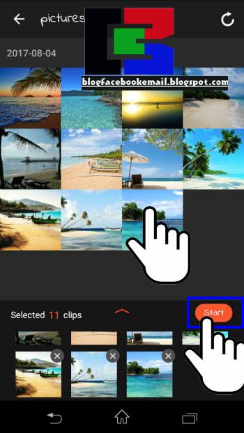 Fungsi Hp android hampir menyamai PC dimana  Cara Membuat Video Dari Foto di Hp Android (Full Musik, Teks, Efek Keren)