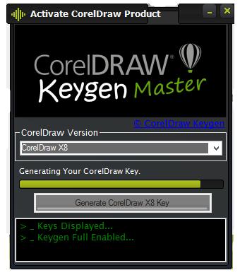 corel draw x8 crack 2018