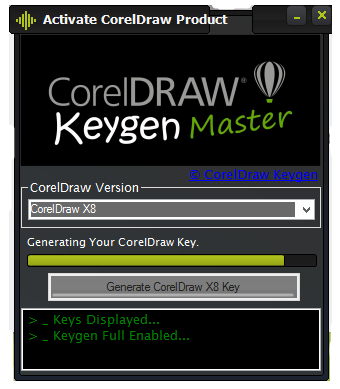 corel draw x8 keygen xforce free download