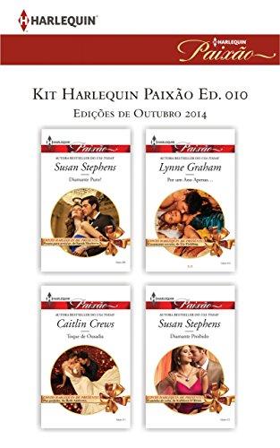 Kit Harlequin Paixão Out.14 - Lynne Graham, Caitlin Crews, Susan Stephens