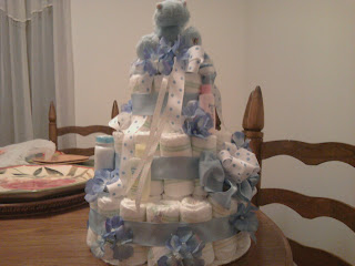 Diaper Cake Tutorial About A Mom
