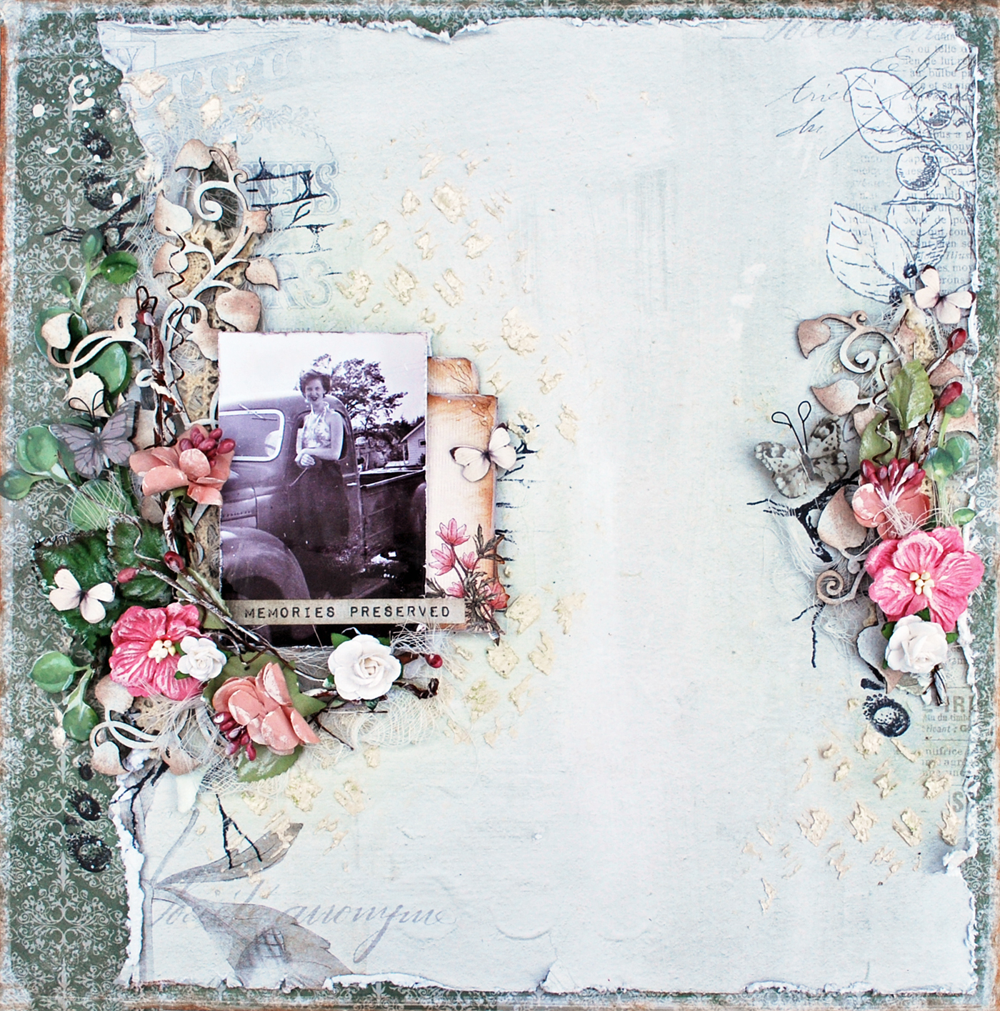 memories preserved layout with shona