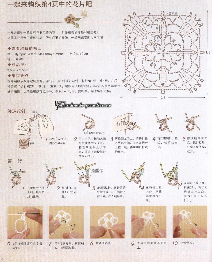 Кружевные мелочи и аксессуары крючком (4)