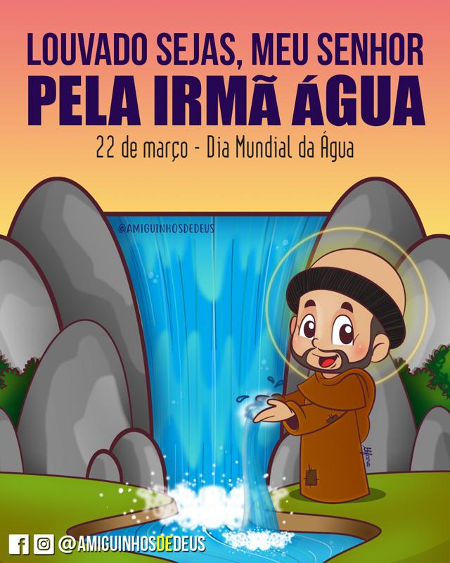 dia mundial da água desenho