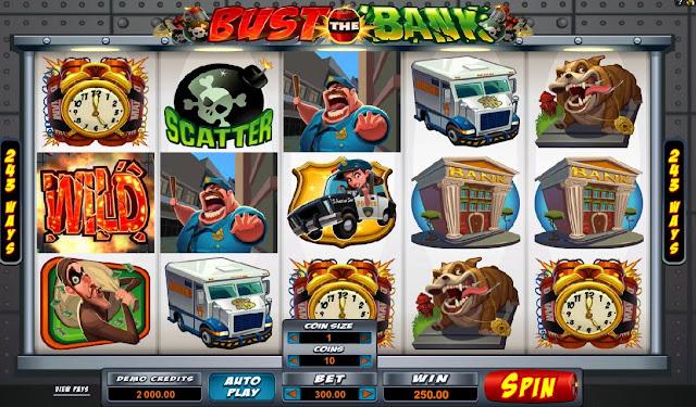 Thưởng lớn dành cho slot Bust The Bank