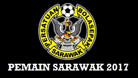 Pemain Sarawak 2017