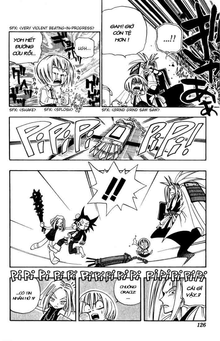 Shaman King [Vua pháp thuật] chap 32 trang 19
