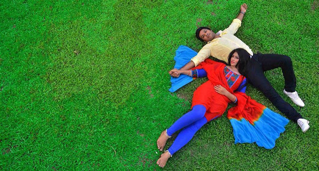 Sadika Parvin Popy and Afran Nisho Romantic Photo