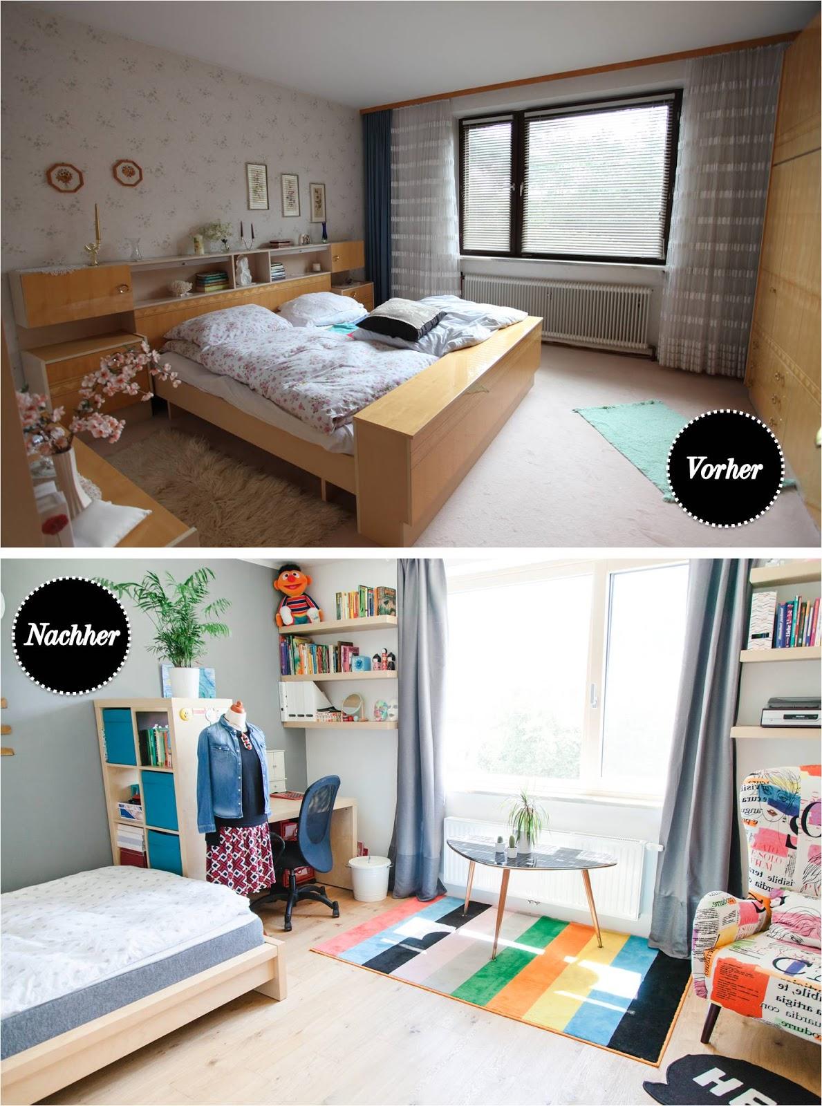 Elegant Vorher Nachher: Leonas Zimmer