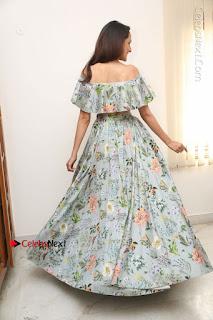 Actress Pragya Jaiswal Stills in Floral Dress at turodu Interview  0206.JPG