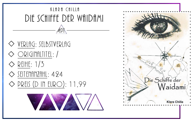 [Rezension] Die Schiffe der Waidami - Klara Chilla