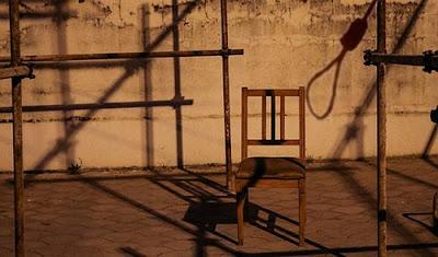 Noose, public execution, Iran