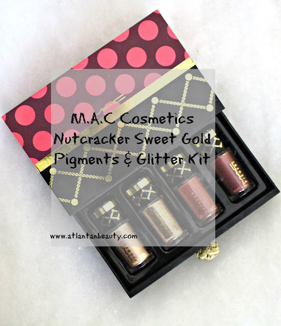 M.A.C Cosmetics Nutcracker Sweet Gold Pigments and Glitter Kit