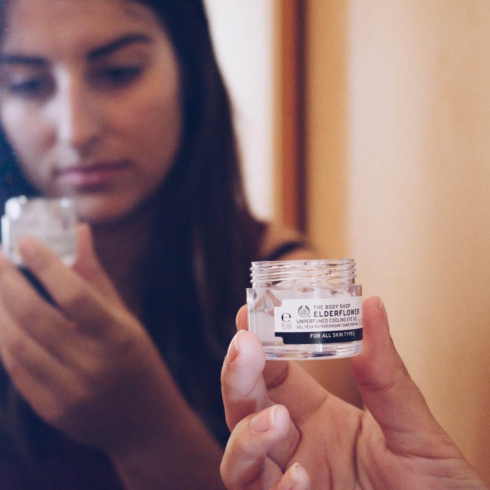 Gel De Olhos Refrescante Elderflower | The Body Shop