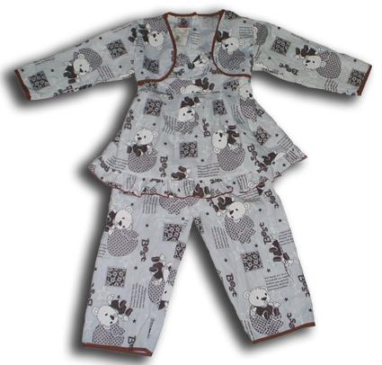 gambar model baju tidur anak