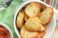 Patatas envasadas caseras