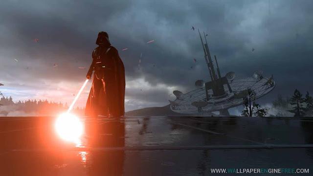Star Wars Battlefront Darth Vader 2 (1080-60FPS) Wallpaper Engine