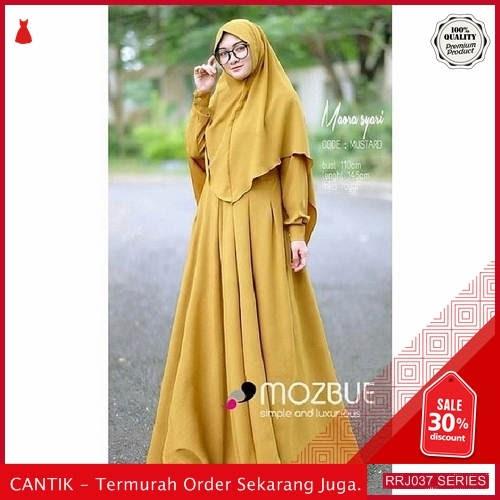 Jual RRJ037D75 Dress Muslim Mura Wanita Syari Plus Set BMGShop