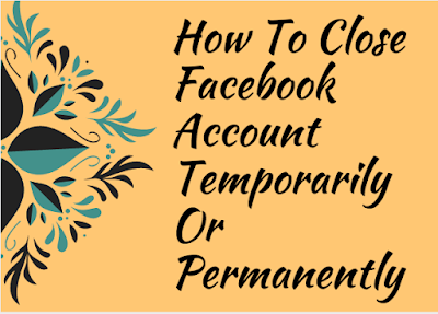 Delete My Facebook Account Now - How to cancel or close Facebook account temporarily or permanently | Delete Facebook Account Link