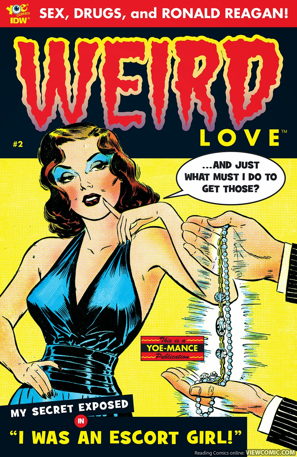 WEIRD Love | Viewcomic reading comics online for free 2019