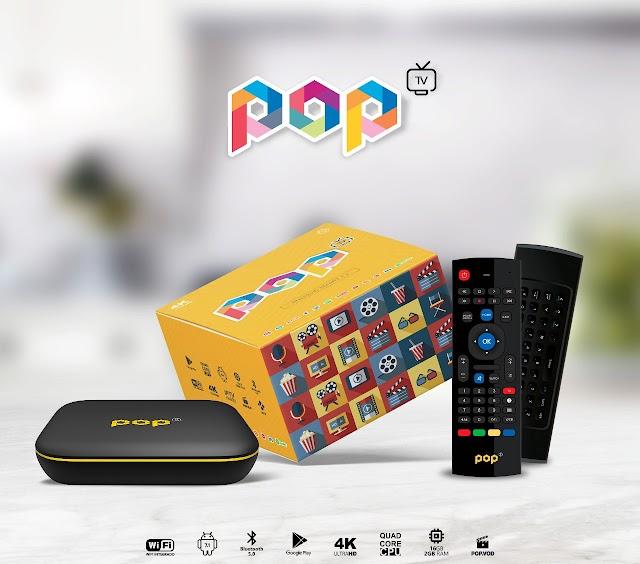 POP TV ANDROID SMART 4K NOVO RECEPTOR DE STREAMING CONFIRAM - 04/05/2018