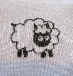 sheep sleep suit