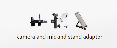 80% OFF camera and mic and stand adaptor