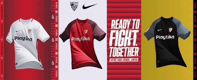Camisetas Sevilla FC Nike 2018-2019